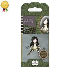 Gorjuss Rubber Mini Stamps *ON TOP OF THE WORLD* Little Girl Card Making - 12
