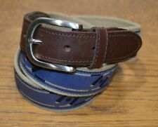The Belted Cow Co Men's Belt Made in Usa Size 36 Fabric Hockey Sticks