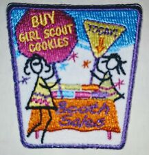 Girl Scout Cookie Booth Sales Embroidered Patch New