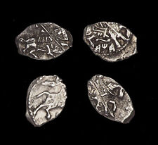 RUSSIA. Peter The Great, 1682-1717. Silver Kopek, Lot of 4