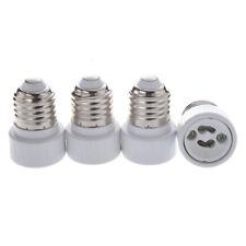 4 x E27 a GU10 LED / CFL Lampada senza saldatura-  Adattatore Convertitore, M2Q0