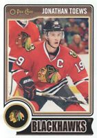 2014-15 O-Pee-Chee Hockey #256 Jonathan Toews Chicago Blackhawks