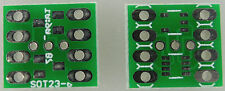 30x SMD Adapterplatine SOT-23 (je 2xSOT23-3, 1xSOT23-5, 1xSOT23-8)