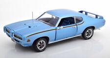 1:18 Ertl/Auto World Pontiac GTO Judge 1969 lightblue-metallic