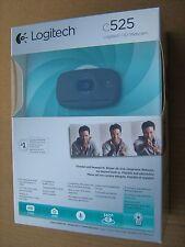 Logitech C525 HD Web Camera Autofocus PC Webcam 720p 960-000723 1280x720 New