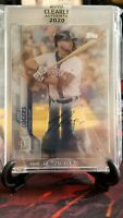 JakeRogers RC 2020 Topps CLEARLY AUTHENTIC Rookie AUTO DETROIT TIGERS