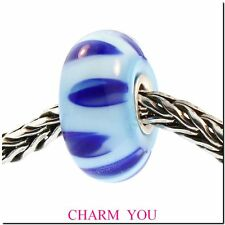 AUTHENTIC TROLLBEADS 61153 Bluish Shadow