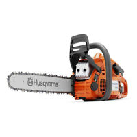 Husqvarna 445E Series 3/8 Inch Pitch 50.2cm Cylinder 18 Inch Bar Gas Chainsaw