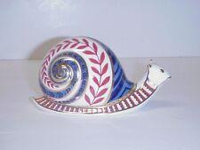 Royal Crown Derby Imari Snail Paperweight