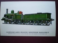 POSTCARD LONDON & NORTH WESTERN RLY 2-2-2 LOCO NO 531 'LADY OF THE LAKE'