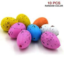 10pcs Cute Magic Growing Hatch Toy Add Water Growing Expansion Dinosaur Eggs XW