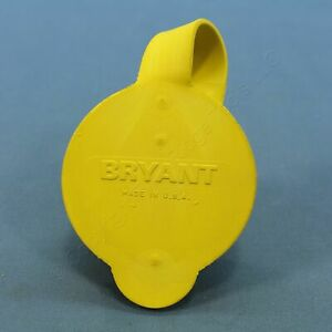Bryant Yellow Replacement Wetguard Watertight Connector Seal Ring Cap 72002BSR
