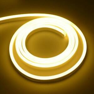 1-100m Neon LED Strip Streifen Leuchte Flexibel diffus 230V Dimmbar Party neue