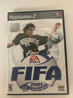 Fifa 2001 Play Station 2 Game Used Free Shipping In USA
