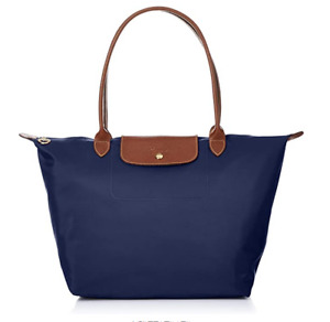 NEW Longchamp Le Pliage  Nylon Tote Bag Large Navy