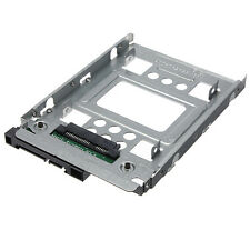 NEW 2.5 inch SSD to 3.5 inch SATA HDD Hard Disk Drive Adapter Caddy Tray