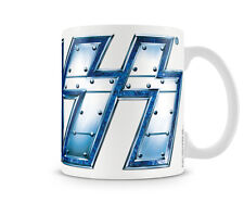KISS Metal Logo Metall Rock Band Musik Tour Kaffee Becher Coffee Mug Tasse