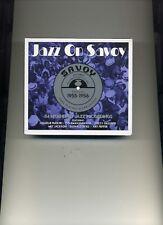 JAZZ ON SAVOY - 1955 - 1956 - CHARLIE PARKER DIZZY GILLESPIE - 3 CDS - NEW!!