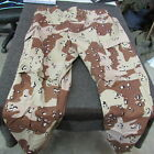 Desert Storm NOS US Military Trousers Chocolate Chip X-Large Regular  (T37)