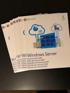 Windows Server 5 User CAL 2019 MLP R18-05657