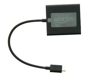 Amazon Fire TV Stick Ethernet Adapter 53-007153, for 2nd Gen and 4k Firestick