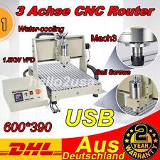 USB CNC MáQuina De Grabado 3-Ejes 6040 Cutter 1500W Router Grabador 3D Cutting