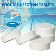 100g Swimming Pool Cleaning Tablets Chlorine Chemical  Water Disinfection Tablet