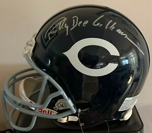 Brian's Song Billy Dee Williams Signed Chicago Bears Full Size Helmet