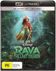 Raya And The Last Dragon 4K Ultra HD + Blu-Ray BRAND NEW Region B DISNEY