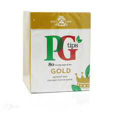 New PG Tips Gold 80s Pyramid Tea Bags