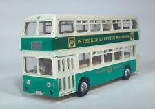 Dinky Toys 293 G Atlantean Double Deck Bus BP British Petroleum Scale Model