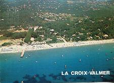 Carte LA CROIX VALMER Vue aérienne de la plage