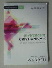 NEW! EL VERDADERO CRISTIANISMO - FRANK Y NOLA WARREN  (PAPERBACK)