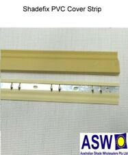 1.80m Long SHADEFIX COVER STRIP Shadecloth Fastening System BEIGE Shade Cloth
