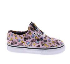 Vans Toddler Girl's Nintendo Pink Princess Peach Mario Kart Skate Shoes Size 5