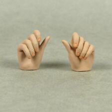 1/6 Scale Phicen - Mercy Dante Female Light Suntan Grabbing Gestured Hand Set