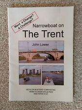 Narrowboat on the Trent, John Lower, published by Richlow, 2010