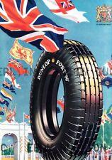 Dunlop Tire Pneumatic Pneu Tyre motorcycle ca 8 x 10 print prent poster 3