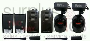 QTY2 Usé BLACKBOX-U Uhf 4W 16CH 450-470MHZ Long Gamme Radio Haut Power Affaires