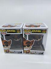 Funko Pop! Games Crash Bandicoot #273 Vinyl Figure 2 Pack