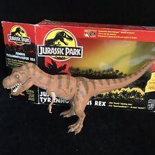Vintage Jurassic Park Junior T-Rex Dinosaur Toy Action Figure in Box
