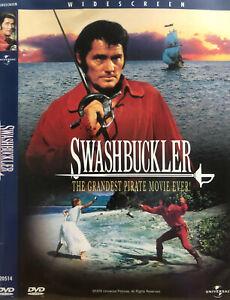 Swashbuckler DVD 1976 Pirate Adventure Movie Rare - WIDESCREEN - Robert Shaw