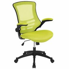 Flash Furniture Mid Back Mesh Office Swivel Chair in Green