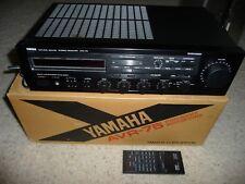 Yamaha AVR-75 Receiver with Remote Control Bundle (Black)