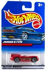 Hot Wheels Jaguar D-Type Red Wire SP's International Blue Card New 1999