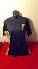 CRICKET AUSTRALIA OFFICIAL BLUE/GOLD SHIRT LIKE NEW CONDITION WITH TAGS SIZE M
