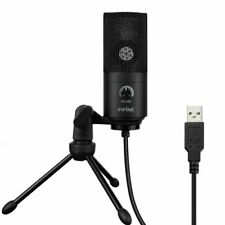 USB Microphone for Computer,CASTRIES Condenser Recording PC Microphone for Mac