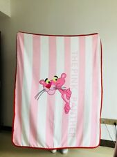 Pink Panther pink coral fleece Blankets Throws quilt blankets nap 150x120cm