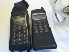 Two Philips Cellnet Vintage Mobile Phones & One Charger