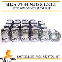 Wheel Nuts & Locks (16+4) 12x1.25 Bolts for Subaru Impreza WRX (HawkEye) 06-08